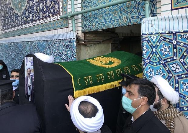 مراسم تشییع آیتالله مصباح یزدی در مشهد برگزار شد