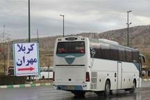 750 دستگاه اتوبوس برای جابجایی درون شهری زائران اربعین در مهران مستقر است
