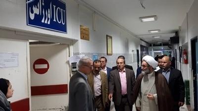 بازدید نماینده ولی فقیه در گیلان از مراکز آموزشی- درمانی رشت