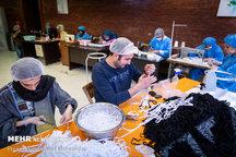 ماسک توسط کارگاههای سپاه در خوزستان تولید می شود