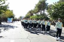 مراسم آغاز هفته دفاع مقدس در گناباد برگزار شد