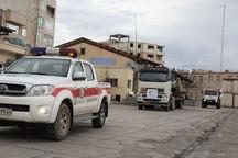 چهار تیم امدادی هلال احمر کرمان به سیستان و بلوچستان اعزام شد