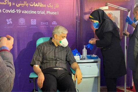 نخستین تست واکسن کرونای ایرانی بر روی 3 داوطلب + عکس و فیلم