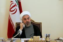 روحانی: در مدیریت بحران، حفظ سلامتی مردم مهمترین اصل است/ تعطیلات پیش رو نباید هیچ خللی در روند امدادرسانی و اجرای تصمیمات دولت در کمک به سیل زدگان ایجاد کند