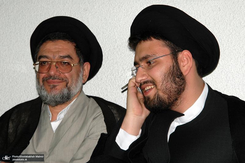 محتشمی پور و سید علی خمینی