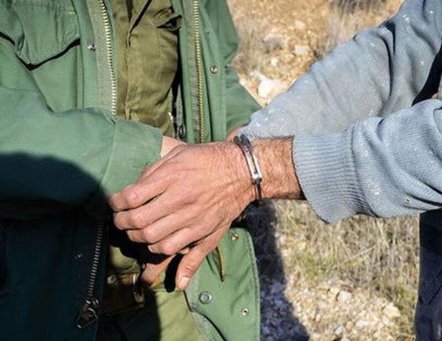 شکارچی کبک وحشی در دامغان دستگیر شد