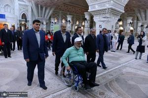 تجدید میثاق ورزشکاران جانباز و معلول استان تهران با آرمان های حضرت امام خمینی(س)
