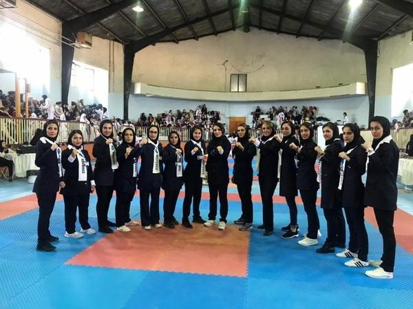 مسابقات هاپکیدو بانوان استان قزوین با معرفی تیم های برتر پایان یافت