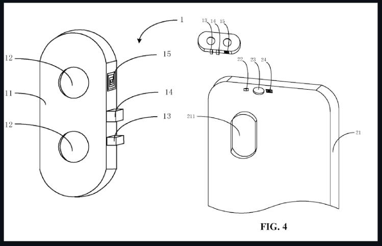 دوربین های مدولار در جدیدترین حق ثبت اختراعات شیائومی بازی می کنند