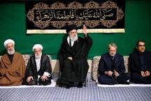 اولین شب مراسم عزاداری حضرت فاطمه زهرا (س) در حسینیه امام خمینی برگزار شد