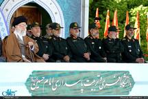 مراسم دانشآموختگی دانشجویان دانشگاه امام حسین(ع) با حضور فرمانده کل قوا