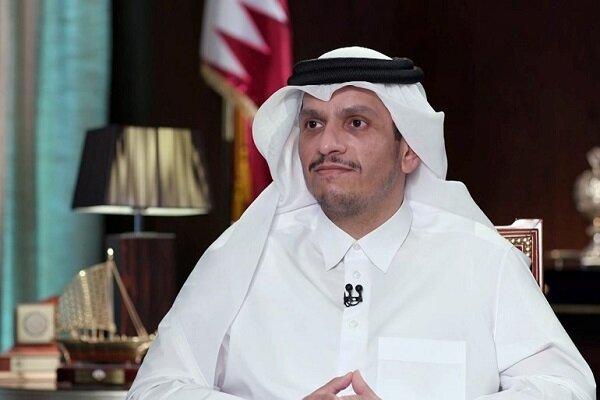 وزیر خارجه قطر: قدردان کمکهای ایران هستیم