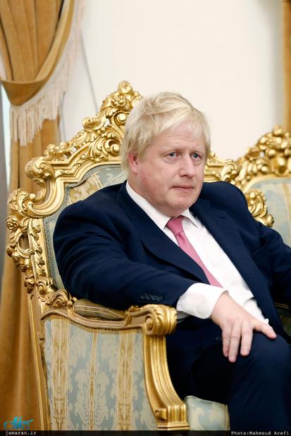 بوریس جانسون / وزیر خارجه انگلیس/Boris Johnson