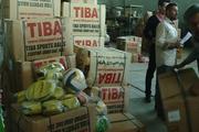 تجهیزات ورزشی به مناطق حاشیه شهر سبزوار اهدا شد