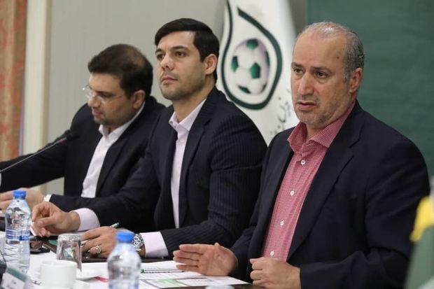 محدودیتها برنامههای فدراسیون فوتبال را معطل نکرده است
