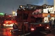 آتش سوزی یک واحد مسکونی در رشت  تلاش برای مهار کامل آتش