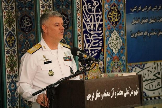 فرمانده نداجا:حفظ وحدت و توجه به تدابیر رهبری کلید موفقیت است