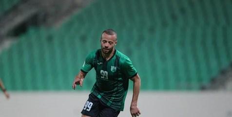 شادی گل بازیکن اردنی در حمایت از مردم فلسطین+ عکس