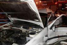 سه مصدوم در تصادف جاده کرج - چالوس