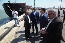 معاون استاندار ساراتف روسیه از بندرامیرآباد در مازندران بازدید کرد