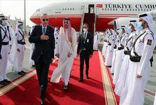 سفر اردوغان به قطر