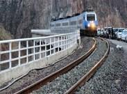 خروج قطار مسافری بندرعباس - تهران از ریل بدون تلفات جانی