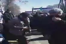 حضور سردار قاآنی فرمانده نیروی قدس سپاه در جمع راهپیمایان ۲۲ بهمن