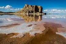 وسعت دریاچه ارومیه 355 کیلومترمربع افزایش یافت