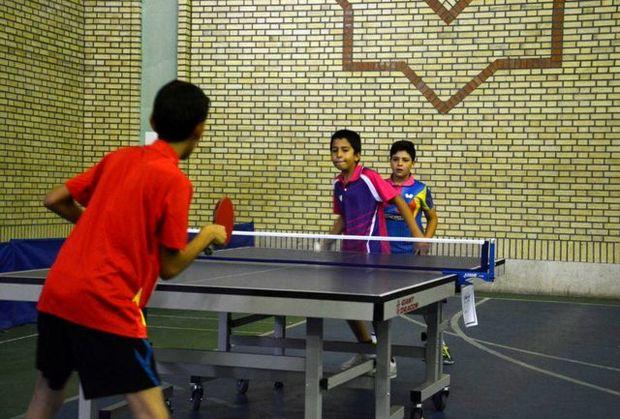مسابقات تنیس روی میز قهرمانی دانش آموزان یزد برگزار شد