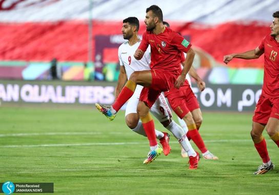 مهدی طارمی ایران سوریه مقدماتی جام جهانی 2022