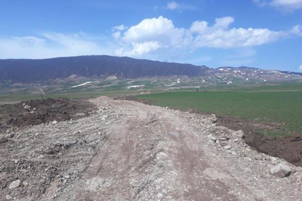 80درصد راه دسترسی حسین آباد کالپوش  ساخته شد