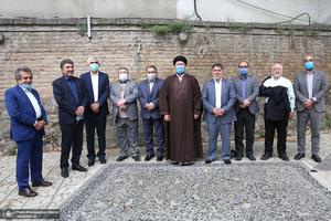 دیدار دبیر کل و اعضای شورای مرکزی حزب اعتماد ملی با سید حسن خمینی