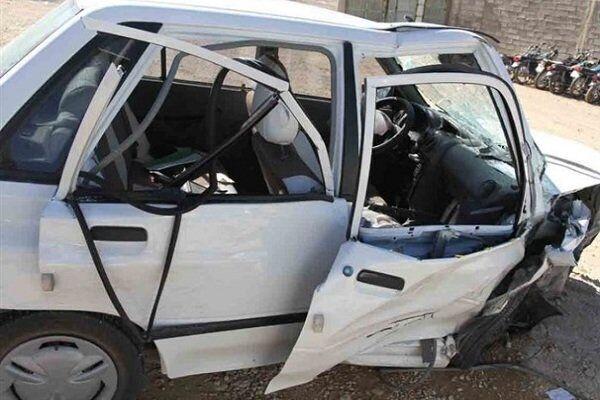واژگونی پراید در یزد یک کشته و سه زخمی برجا گذاشت