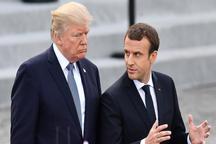 فرانسه: ماکرون و ترامپ به همکاری در خصوص ایران ادامه میدهند