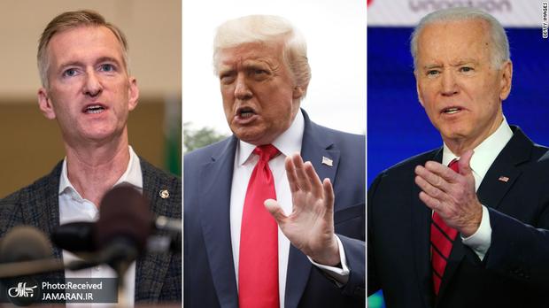 دعوای ترامپ و بایدن بر سر اعتراض های مردمی در آمریکا بالا گرفت