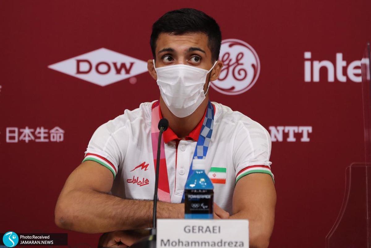 المپیک 2020 توکیو| محمدرضا گرایی: امیدوارم در پاریس با برادرم مدال بگیرم
