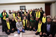 دیدار جمعی از خانواده های شهدای حزب الله لبنان با سیدحسن خمینی
