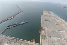 امکان پهلوگیری کشتی های 100 هزار تنی پس از افتتاح فازنخست بندرچابهار