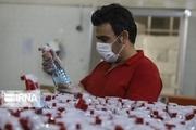 ۳۶۰ هزار لیتر محلول ضدعفونی در آستارا تولید شد