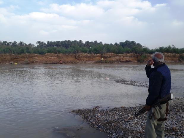 تورهای صید غیرمجاز ماهی از رودخانه دالکی جمع آوری شد