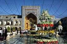 مراسم جشن میلاد امام زین العابدین (ع) در حرم مطهر رضوی برگزار شد