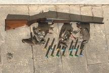 یک شکارچی متخلف کبک در بیجار دستگیر شد