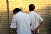 سارقان سیم و کابل برق دشتستان دستگیر شدند