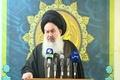 فریاد های امام جمعه بغداد در رثای شهامت امام خمینی(س) و رهبر انقلاب در ایستادگی مقابل آمریکا