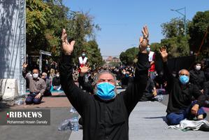 نماز ظهر عاشورا در قزوین و زنجان