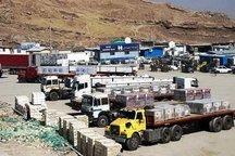 صادرات کالا از مرز مهران به عراق افزایش یافت