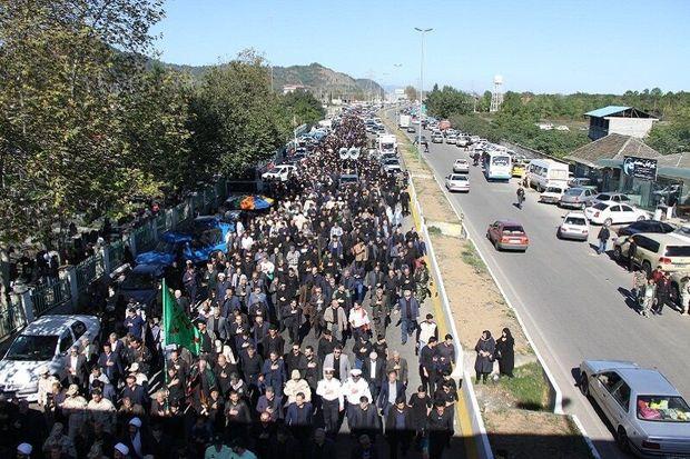 برنامهریزی برگزاری پیادهروی اربعین در آستارا