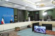 بهره برداری از طرح های ملی استان های اصفهان و خراسان رضوی با حضور رئیس جمهور