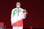 مدال طلای تاریخی پاراتکواندو بر گردن اصغر عزیزی+ عکس و ویدیو