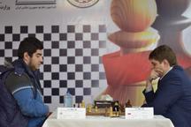 استادبزرگ شطرنج ایران قهرمان مسابقات بین المللی شطرنج جام فجر شد